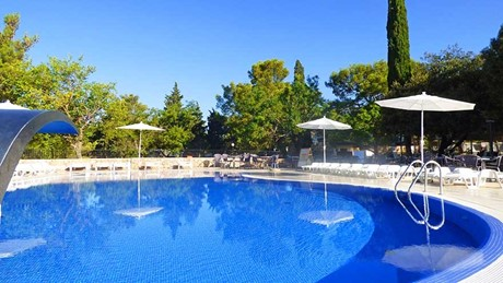 Schwimmbad, Camping Paklenica