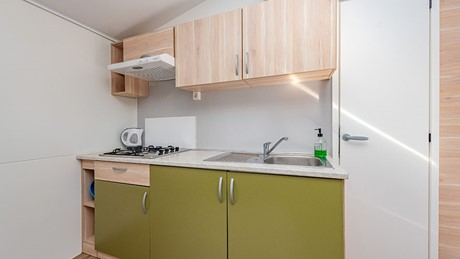 Mobile Home 6+2 Kitchen